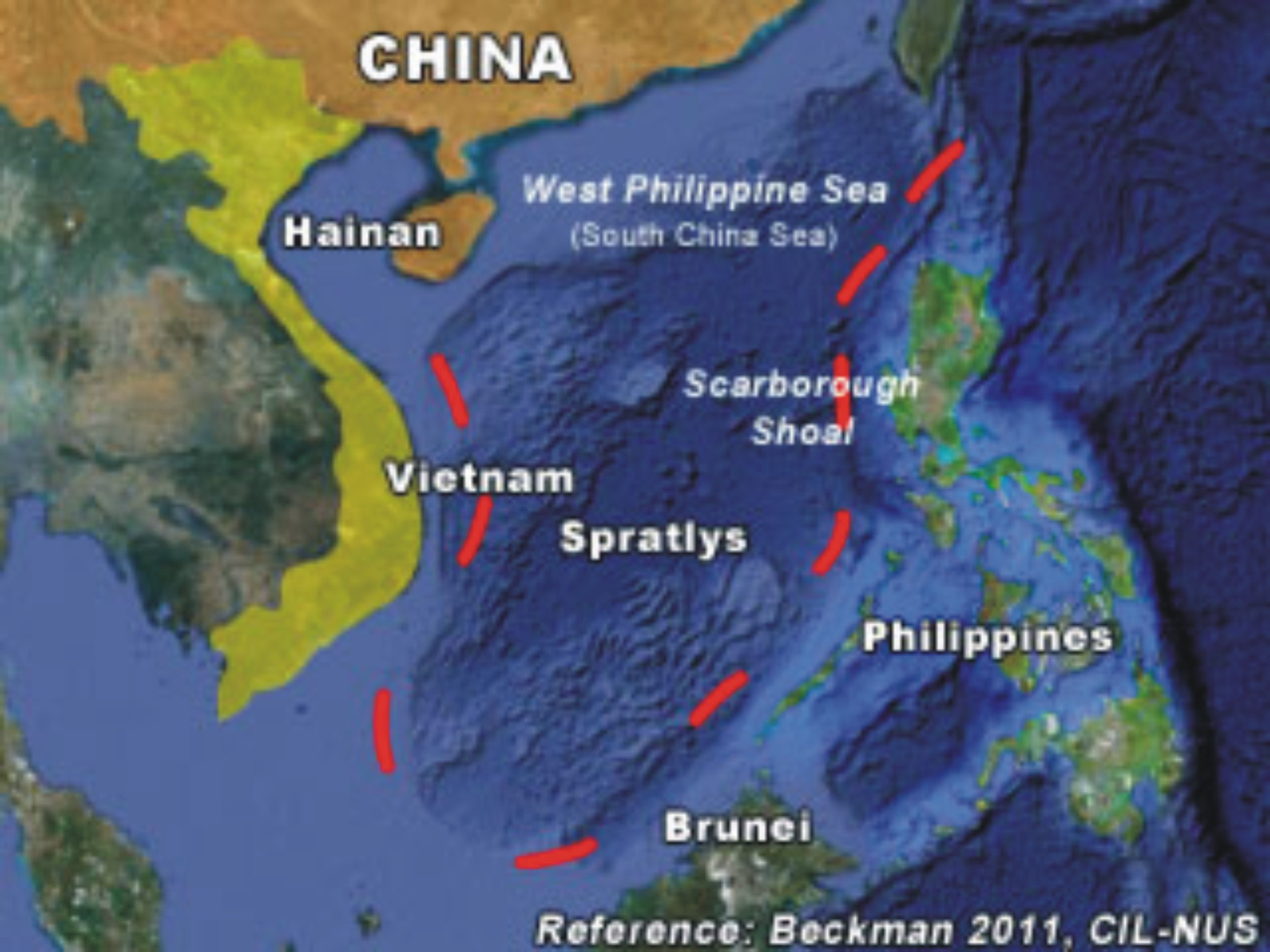 West Philippine Sea and Promotion of Ignorance  RLTJs Weblog