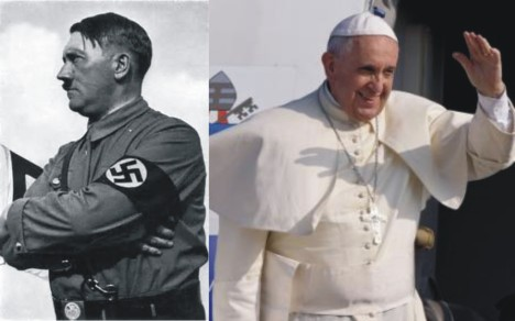 Hitler and Pope Francis